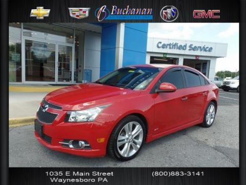 Pre-Owned 2013 Chevrolet Cruze 4DR SDN LTZ
