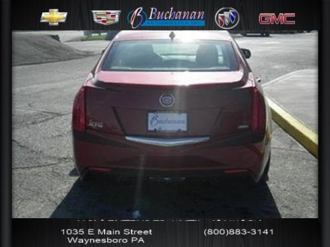 Pre-Owned 2014 Cadillac ATS 4DR SDN 3.6L PREMIUM RWD