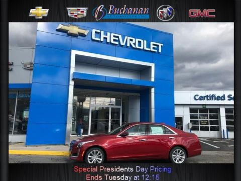 New 2019 Cadillac CTS 4DR SDN 2.0L TURBO AWD