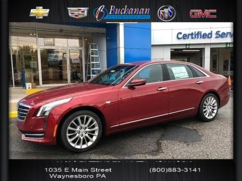 New 2018 Cadillac CT6 4DR SDN 3.6L AWD