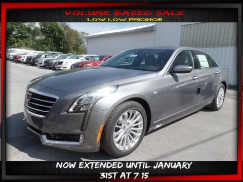 New 2018 Cadillac CT6 4DR SDN 2.0L TURBO LUXURY