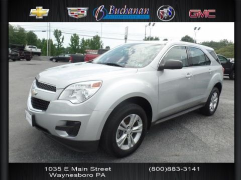 Pre-Owned 2013 Chevrolet Equinox AWD 4DR LS