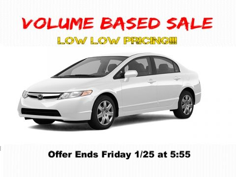 Pre-Owned 2007 Honda Civic 4DR AT LX