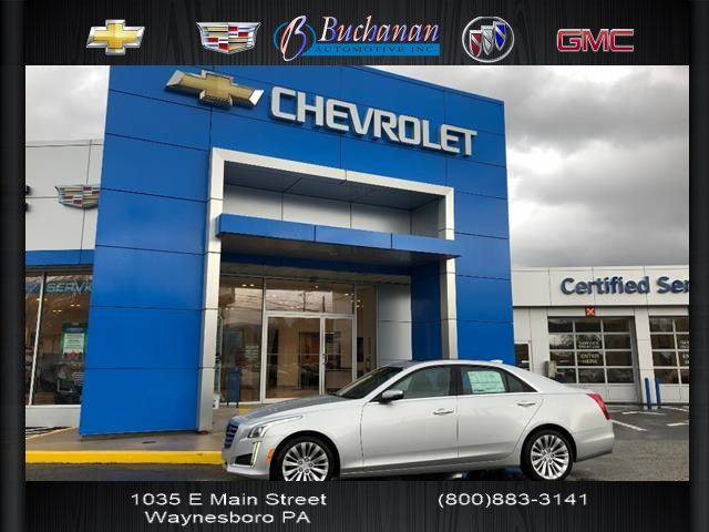 New 2019 Cadillac Cts 4dr Sdn 2 0l Turbo Luxury 2 0t Luxury 4dr