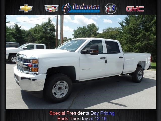 New 2019 Chevrolet Silverado 2500hd 2wd Crew Cab 167 7 Work 4x2 Work
