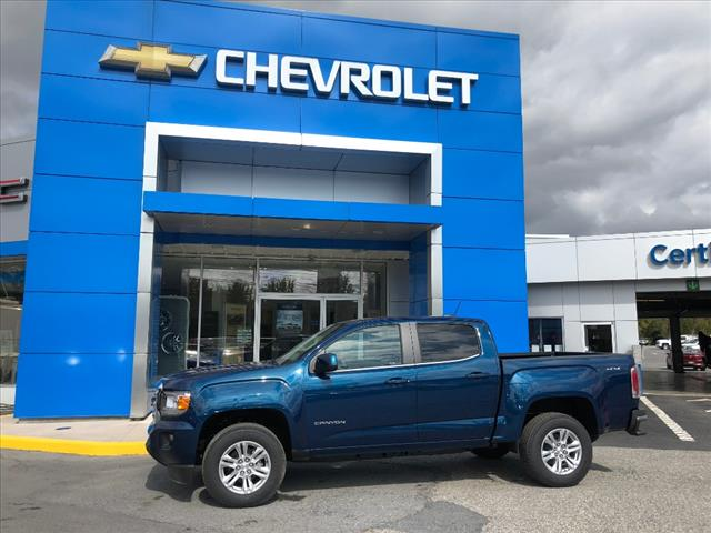 New 2019 Gmc Canyon 4wd Crew Cab 128 3 Sle 4x4 Sle 4dr Crew Cab 5 Ft