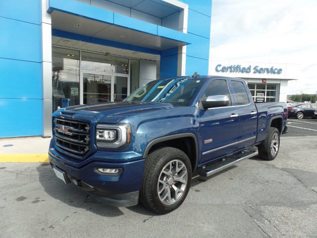pre owned 2016 gmc sierra 1500 4wd double cab 143 5 slt 4x4 slt 4dr double cab 6 5 ft sb in. Black Bedroom Furniture Sets. Home Design Ideas